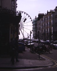 Kemp Town, Brighton, 19 March 2013 (allhails) Tags: wheel sussex seaside brighton resort kemptown 19mar13