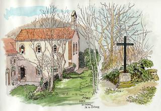 Luzech, chapelle de la Pistoule