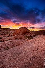 Valley On Fire [Explored 03/26/13] (Eddie 11uisma) Tags: park valleyoffire sunrise dawn landscapes desert state lasvegas nevada overton