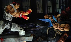 Ryu Vs. Akuma (advocatepinoy) Tags: toys play display action arts geeks nerds animation marvellegends squareenix drama ryu streetfighter capcom shoryuken neca akuma gouki hadouken streetfighter2 sf4 toyphotography nerdrum marvelselect acba shingouki playerselect streetfighter4 satsuinohadou ryustreetfighter akumastreetfighter playartskai dominicdimagmaliw advocatepinoy advocate928 filipinocollector streetfighterclassic