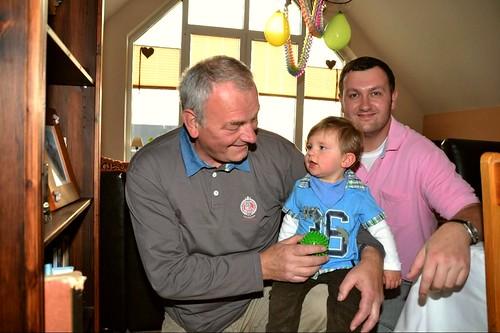 Opa, Papa, Enkel