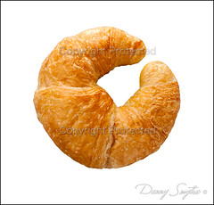 Croissant isolated (Danny Smythe) Tags: food macro closeup breakfast cutout crust french bread dessert cuisine golden yummy sweet dough object tasty nobody fresh delicious whitebackground snack pastry croissant studioshot bun isolated buttery ingredient stockphotography singleobject isolatedonwhite dannysmythe