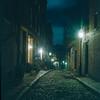 Acorn St in Beacon Hill, Boston (Barry Yanowitz) Tags: 6x6 film boston mediumformat kodak massachusetts 120film scanned filmcamera beaconhill acornstreet rolleicordv kodakektachromet64