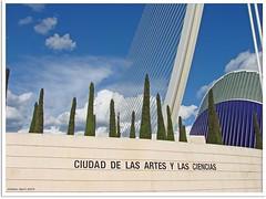 Valencia -  Ciudad de las Artes y de las Ciencias (Stadt der Künste und der Wissenschaften)