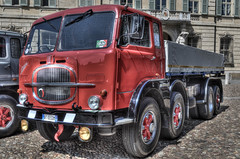 DSC_8668_69_70HDR (bornin78) Tags: old travel colors car truck nikon wheels transport camion civil transportation mantova historical 18200 hdr mantua photomatix d7000