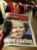 The woman who divided a nation (greenwood100) Tags: margaretthatcher dailymirror theironlady thewomanwhodividedanation