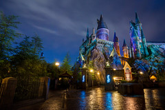 Wizarding World of Harry Potter: Hogwarts (Hamilton!) Tags: world show vacation castle wet rain statue stone night zeiss islands orlando long exposure ride florida sony magic tripod hamilton wide harry potter resort special adventure journey land universal studios hogwarts za ultrawide ultra hdr gitzo slt relfections expansion 1635 uwa hogsmeade a99 wizarding forbiddin variosonnart281635 pytluk