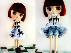 For: Blythecon Barcelona (Baccarita) Tags: barcelona doll dress blythe neo takara vestido tibidabo carrousel