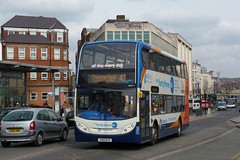 YN12GYO Stagecoach Yorkshire Scania N230UD 15824 (Sharksmith) Tags: bus sheffield arundelgate yn12gyo stagecoach stagecoachyorkshire scanian230ud adlenviro400 15824 route43 yourfortythree