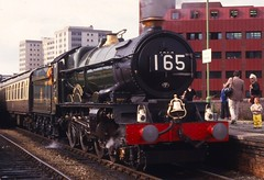 6000 KING GEORGE V (goweravig) Tags: uk trip station swansea wales rail steam locomotive 6000 carmarthen kinggeorgev