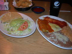 El Pueblito Combination Dinner (jimmywayne) Tags: food restaurant historic mexican kansas chanute elpueblito