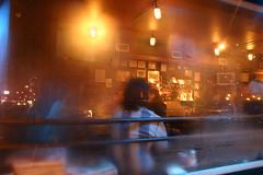 Alphabet City Bar Reflection