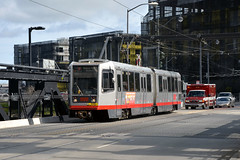 Muni 1482 [San Francisco tram] (Howard_Pulling) Tags: sf sanfrancisco california ca photo nikon picture tram april breda trams strassenbahn lrv 2013 hpulling howardpulling d5100