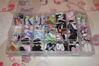 Storage box for my shoes my small chips Lati Yellow and Pukifee ♥