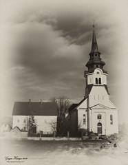 Back in time (gregork.) Tags: winter panorama clouds landscape blackwhite time bluesky slovenia slovenija zima februar nebo vodice cerkev panoramio 2013 oblaki modronebo