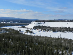 Very famous view of Five Finger Rapids (jimbob_malone) Tags: yukon 2013 northklondikehighway