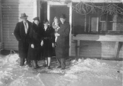 Gust, Mary, Min, Marilyn, and Al Anderson, circa 1938 (jkerssen) Tags: 1930s