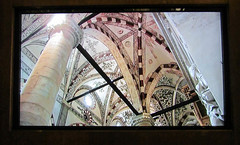 Taken From a Video 2 (Jocey K) Tags: italy building art church video screen ceiling worldheritagesite verona column fresco paitnings santanastasia cosmostour6330