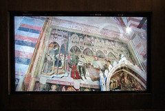 Taken From a Video 6 (Jocey K) Tags: italy building art church wall video screen worldheritagesite verona fresco paitnings santanastasia cosmostour6330