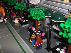New York, or what? (_yyogi) Tags: city newyork building fence town lego modular