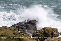 Is this Sensible? (doublejeopardy) Tags: rock gale storm thelizard mist sea surf water whitewater cornwall places waves lizard england unitedkingdom gb