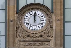 What Time Is It ? (Rick & Bart) Tags: paris france city urban garedunord railwaystation clock whattimeisit facade rickvink rickbart canon eos70d