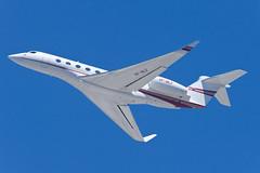 Private Gulfstream G650 VP-BLF (jbp274) Tags: lax klax airport airplanes bizjet gulfstream g650