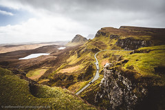 The Quiraing (Steffen Walther) Tags: 2016 reise schottland travel scotland skye highlands steffenwalther reisefotolust canon5dmarkiii canon1740l mountains quiraing trotternish hebrides lake road hiking trekking green vibrant clouds landscape nature