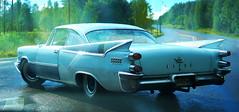 Batman is back in town (patrick.tafani) Tags: car dodge coronet 1959 vhicule voiture coronet1959