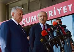 IKI LIDER ORTAK BASIN ACIKLAMASI YAPTI (FOTO) (CHP FOTOGRAF) Tags: siyaset sol sosyal sosyaldemokrasi chp cumhuriyet kilicdaroglu kemal ankara politika turkey turkiye tbmm meclis binali yildirim basin iki lider