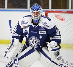 Atte Engren 2016-09-01 (Michael Erhardsson) Tags: leksand lif leksands if shl 2016 träningsmatch atte engren finsk målvakt goalie kumla