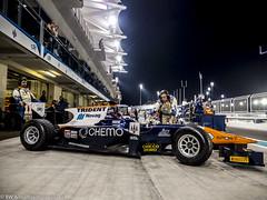 2015 Abu Dhabi GP: Trident (8w6thgear) Tags: 2015 abudhabi grandprix pitlane trident night mechanic gp2