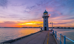 sunset @ raffles marina (throwback),singapore (jaywu429) Tags: explore sony a7r singapore landscape raffles marina water sea beacon light sunset clouds sun west tokina 1635mm outdoor sky skyline