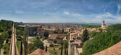 Panormica de Girona desde la Torre de Gironella (JJ Blasco) Tags: girona gerona espaa catalunya catalua muralla catedral torre vistas panormica paisaje holidays verano summer cuidad city