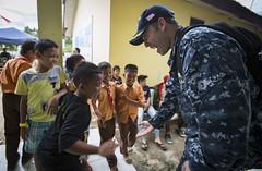 160820-M-TM809-583 (U.S. Pacific Fleet) Tags: pacificpartnership16 usnsmercytah19 pp16 sgtvella sgtbrittneyvella combatcorrespondent usmarine usnavy medicalscreening navymedical navydoctors indonesia pp16medicalscreening partnershipsmatter padang
