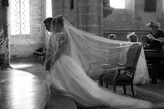 Wedding ... (Yonatan Souid) Tags: bw wedding friends messe ceremony church atmosphere monochrome life moment instant inspiration