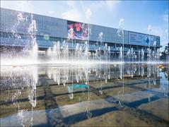 Russia. Moscow. Fountain on Krymskaya embankment. (Yuri Degtyarev) Tags: russia city capital moscow moskva moscou fountain krymskaya crimean embankment waterfront muzeon gorky park summer water               outdoor panasonic dmcg3 g3 hf007014 7144 reflections