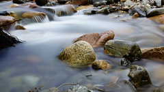 listen to the murmur of a mountain brook (lunaryuna) Tags: scotland cairngorms nationalpark landscape water mountainstream le longexposure rocks beauty nature summer season seasonalwonders lunaryuna