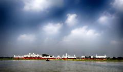 Neermahal () (Zakir_Hossain) Tags: neermahal  agartala tripura sky palace river