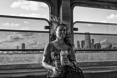 Staten Island Ferry (Pine Ear) Tags: nyc new york staten island ferry leica mp240 35mm f2 summicron bnw monochrome street candid gothamist