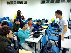 Back to Asia University-16 (Enix Xie) Tags: taiwan taichung travel trip journey life enjoy streetsnap street people wufeng 亞洲大學 亞大 asiauniversity 攝影社 photographyclub student nikon nikond7000 d7000 小小黑 70200 70200f4 nikkorafs70200mmf4gedvr apple iphone iphone6 club