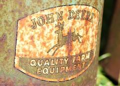 John Deer farm Equipment Oil Can - Rock River Thresheree (Laurence's Pictures) Tags: rock river thresheree edgerton wisconsin janesville steam farm equipment tractors john deere narrow gauge germany ih farmall case thresher labor day