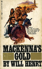 Novel-Mackenna's-Gold-by-Will-Henry (Count_Strad) Tags: novel cover art coverart book western scifi wwii