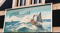 Historical Boatyard - Sandwich, Kent (jcbkk1956) Tags: 45mmf28 rokkor sandwich kent sign boatyard minoltaa5 minolta rangefinder analog agfa200 film 35mm