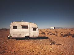 pair of deuces (Jo-H) Tags: trailer caravan desert nevada overton americanwest solitary deuce solitude abandoned