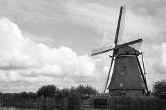 Kinderdijk zwart-wit (Tom van der Heijden) Tags: kinderdijk molen windmill holland erfgoed unescowerelderfgoed lek alblasserdam