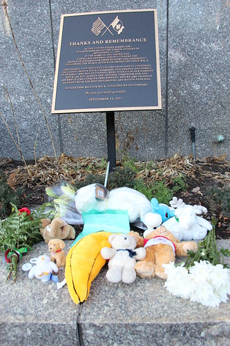 Teddy bear donation for 
