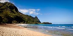 Ha'ena State Park (beyondramen) Tags: beach hawaii kauai tunnels makua haenastatepark