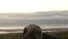 5714.2 Golden Back (eyepiphany) Tags: sunset back serenity oregoncoast beachday manzanita andrewwyeth goldenlight lightandshade manzanitaoregon everydaybeauty beachheaven goldenback cloudsandclimes