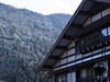 Mountain Lodge (maida0922) Tags: trees roof winter mountain snow building kyoto lodge 京都 kurama 鞍馬 em5 mzuiko45mmf18